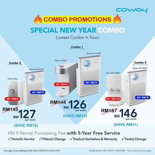 Promosi Pakej Combo Coway