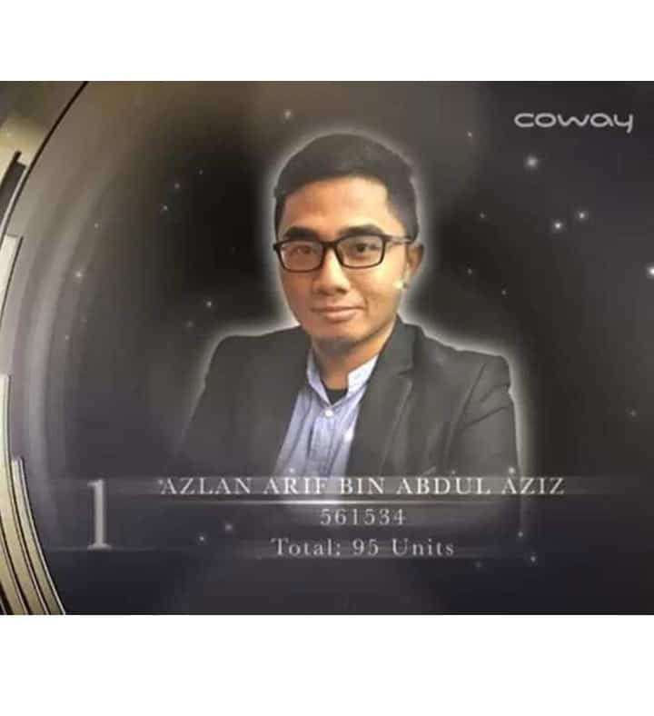 azlan arif coway award 1