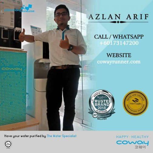 Azlan Arif- Agen Coway Anda